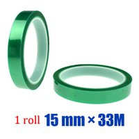 adhesive polyester film - roll mm M Adhesive Polyester Film Green Tape With Silicone Based