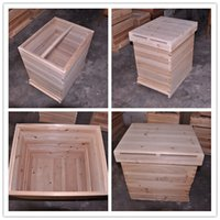 beehive supplies - Professinal supply plastic frames and beehive beekeeping equipment China wooden beehive top quality honey beehive for beekeeping from the bi