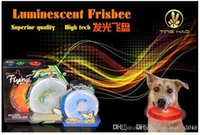 Wholesale 2015 New Arrival One Dog Wholesae Pet Led Color Flash Lighting Flying Disc Beach Trainning Flyer Throwing Fetch Catcher Play Saucer