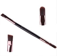 application mix - Professional New Double Ended Eyebrow Eye Shadow Cosmetic Makeup Brush Application Mix Eyeliner Brush Colors