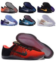 Wholesale BHW Kobe Basketball Shoes Sneakers Mens Man White Bryant Kobes IX Elite Sports KB s EP Trainer Basketball Shoe Size