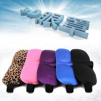 Wholesale 500pcs Trave Sleep mask Rest D Sponge EyeShade Sleeping Eye Mask Cover Patch Blinder for health care eye mask for sleeping