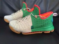 basketball moves - Cheap KD9 White Green Orange Red Grey Men Basketball Shoes kds KD IX Unlimited Moves Kevin Durant Sneakers for sale