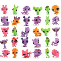 animal house pet shop - Littlest pet shop house evade glue fair doll LPS to Q pet mini small animals Have many styles send by random