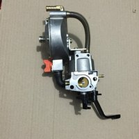 Wholesale LPG CNG CARBURETOR THREE WAY CONVERSION KIT NEW STYLE FOR KW GENERATOR FREE POSTAGE PETROL LIQUEFIELD Dual Fuel Carburetor