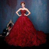Wholesale Vintage Wedding Dresses Plus size wedding dresses Wedding dresses Long sleeve wed dress Bridesmaid dress