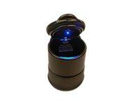 Wholesale Car Ashtray High Frame Retardant Black LED Car Ashtray With Portable LED Light PBT Material With Best Price