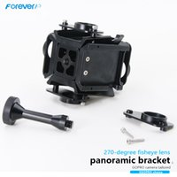 Wholesale CNC Machining D VR Mount Cameras Gopro Panoramic Frame Panorama Bracket for Gopro