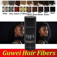 Wholesale DHL SEND Toppik Hair Loss Product Growth Instantly Keratin Fibres Styling Powder g HIGH QUALITY