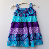 baby girl places - 5pcs Y Place patchwork printed strap tiered dress disfraces nina baby girl dresses girls summer dresses abiti neonata baby jurk