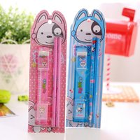 Wholesale set Cute Dog Cartoon Stationery Set Children Gift Stationery Student Prizes