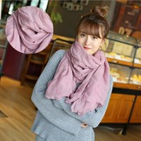 bamboo n - Christmas Party New Autumn Vintage Silk Scarves Women Casual Gorgeous Scarf Shawl Wrap Color Street fashion Trend Popular High Scarves N