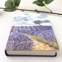 Wholesale 1piece hot sell Aesthetic oil painting thickening blank pages notebook stationery gift personalized diary notebook CY03