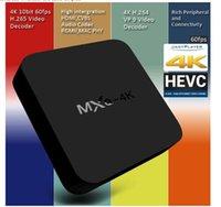 Wholesale MXQ Smart TV Box Kodi Amlogic S805 Quad Core GB GB Fully Loaded WiFi P H HD Media Player Android TV Box Remote Control Free