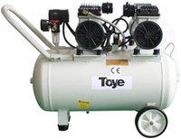 Medical Equipment silenciosa Oilless Air Compressor 65L Com tubulação do metal 2.2HP 4 cadeiras odontológicas