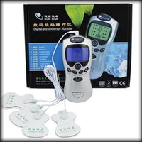 aids and equipment - by dhl or ems pieces Digital Therapy Machine electronic pulse massager health care equipment with Electrodes and pads