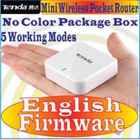 Wireless ap qos - English Firmware Tenda A6 Mini Wireless Router Pocket WiFi Wireless N150 AP Router Client Universal Repeater WISP for match smartphone