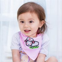 bib pictures - Bibs for Babies Baby Embroidered Triangle Child Feeding Cloths Cotton Bib Rice pocket in Cartoon Pictures