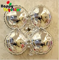 arch smile - SMILE MARKET Hot Sale Pieces Wedding Party Decorations inch Round Inflatable Foil Arch Balloons