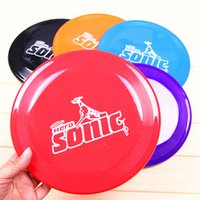 Wholesale Home Garden Pet dog Frisbee Flying Disc Tooth Dog Training Fetch Toy For The DOGS