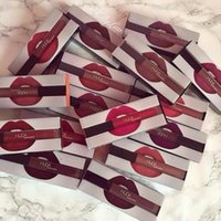 Wholesale Hot Make Up Huda beauty Matte Lipstick Lip Gloss colors DHL Free MR014