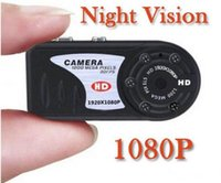 Wholesale mini dv mini camera MP smallest DV Real P IR Night Vision Camcorder hot sale