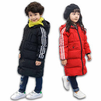 Wholesale 2016 new boys coat children s clothes kids warm jacket Girls down coat jackets outerwear and retail