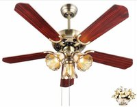 Wholesale 2016 new arrivals LED ceiling fan ventilador techo ikea ceiling fans with lights vintage ceiling fan light metal quiet LED pendant light