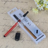 automatic starters - Dab Pen Vaporizer Wee Oil Atomizer Mini CE3 CBD Liquid O Pen Bud Touch Automatic Thread Battery Blister Starter Kit