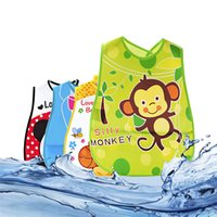 bandana clothing patterns - Baby Cartoon Bibs Waterproof Kids Cute Pattern Bandana Boys Girls Infants Burp Clothes Feeding Care Adjustable Lunch Bibs Newest