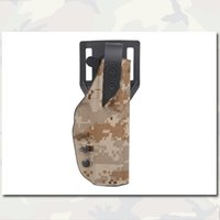 Wholesale XST Style Standard Holster Outdoor Army Emerson Camo Camouflage Bag Pouch Cover For Glock Black EM6159F