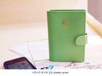 Wholesale Fashion summer candy color Passport Holder Travel Storage Bag Card Holder Case