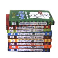Wholesale 2016 Diary of a wimpy kid of Books A novel in Cartoons the NO New York Times Best Seller Books Written by Jeff Kinney Set