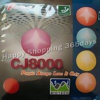 Wholesale Palio CJ8000 BIOTECH Side Loop Type pips in table tennis pingpong rubber with sponge H36