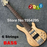 accessories pickups - In Stock New Arrival Best String Electric Bass Thru Neck ELM body Nickel Hardware Active Pickups All Imported Accessories