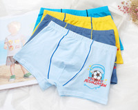 band boxers - Children Kids Briefs Boys Panties Cotton Band Quality Kids Underwear Boxers Solid Color ZA0236