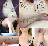 Wholesale 600Pcs MM temporary Tattoo Sticker Inspired Mini Body Tattoos Designs For Choose
