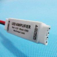 Wholesale 12V x4A W Ultra Slim Mini Portable RGB LED Strip Light led Amplifier RGB Controlers
