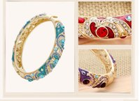 ancient china holidays - Free shippin Chinese style bracelet accessories cloisonne handicrafts crystal national wind restoring ancient ways bracelet k diamond enc