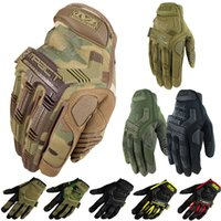 bicycle winter - Mechanix Wear M Pact Multicam Army Military Tactical Gloves Outdoor Motorcycle Cycling Bicycle Airsoft Shooting Paintball Full Finger Gloves