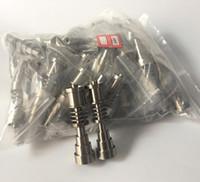 Titanio Titanio ajustable Titanio Grado 2 Titanio Para 16mm 20mm calentador de bobina GR2 Ti Clavos de fumar de vidrio Bongs e cig Accesorios
