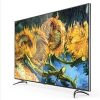Wholesale 55 Inch Curved Plate Ultra HD K LED Smart TV Intelligent Voice Control Global Television Popular Products