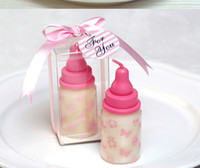 accessories giveaway - 100pcs cm Baby Bottle Candle Favors baby shower wedding favors party gifts centerpieces giveaway accessories in stock