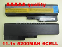 Wholesale MaH Laptop battery For Lenovo For IdeaPad G430 G450 G530 G550 N500 Z360 B460 B550 V460 V450 G455 G555 Y430 l08s6y02