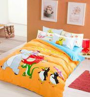 best walking machine - Walking Bedding Cartoon Backkom Bedding Set Cute Kids Home Textiles Queen King edredones colchas Best Sale Sheets