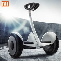 automatic driving cars - Xiaomi Ninebot Self balancing Scooter mini Car km h km Two Unicycle Wheels Smart System Phone APP Alloy body LED Lights