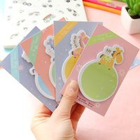 Wholesale pony style Memo Sticky notes Cute Lovely message posted office material School supplies