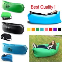 Cheap Fast Inflatable Laybag Lamzac Hangout Air Sofa Camping Sleeping Bag KAISR Beach Sofa Lounger Bed Lazy bags Chair With Side Pocket