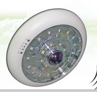 Wholesale Smart LED Ceiling Light Camera Radar monitoring rotate the camera push the alarmsystem P support TF card