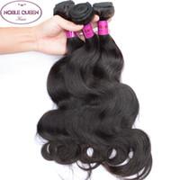 Wholesale Brazilian Hair Body Wave Hair Weaves A Great Quality Human Hair Extensions Peruvian Malaysian Indian Cambodian Brazilian Virgin Hair Weft